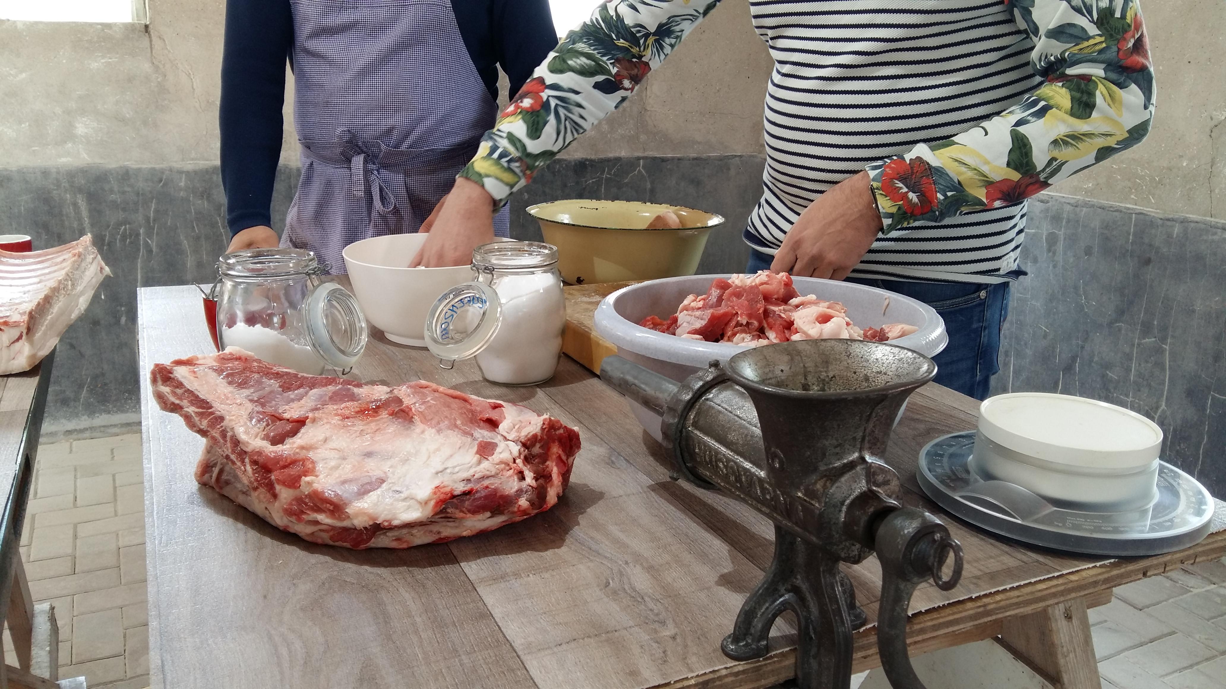 workshop vlees