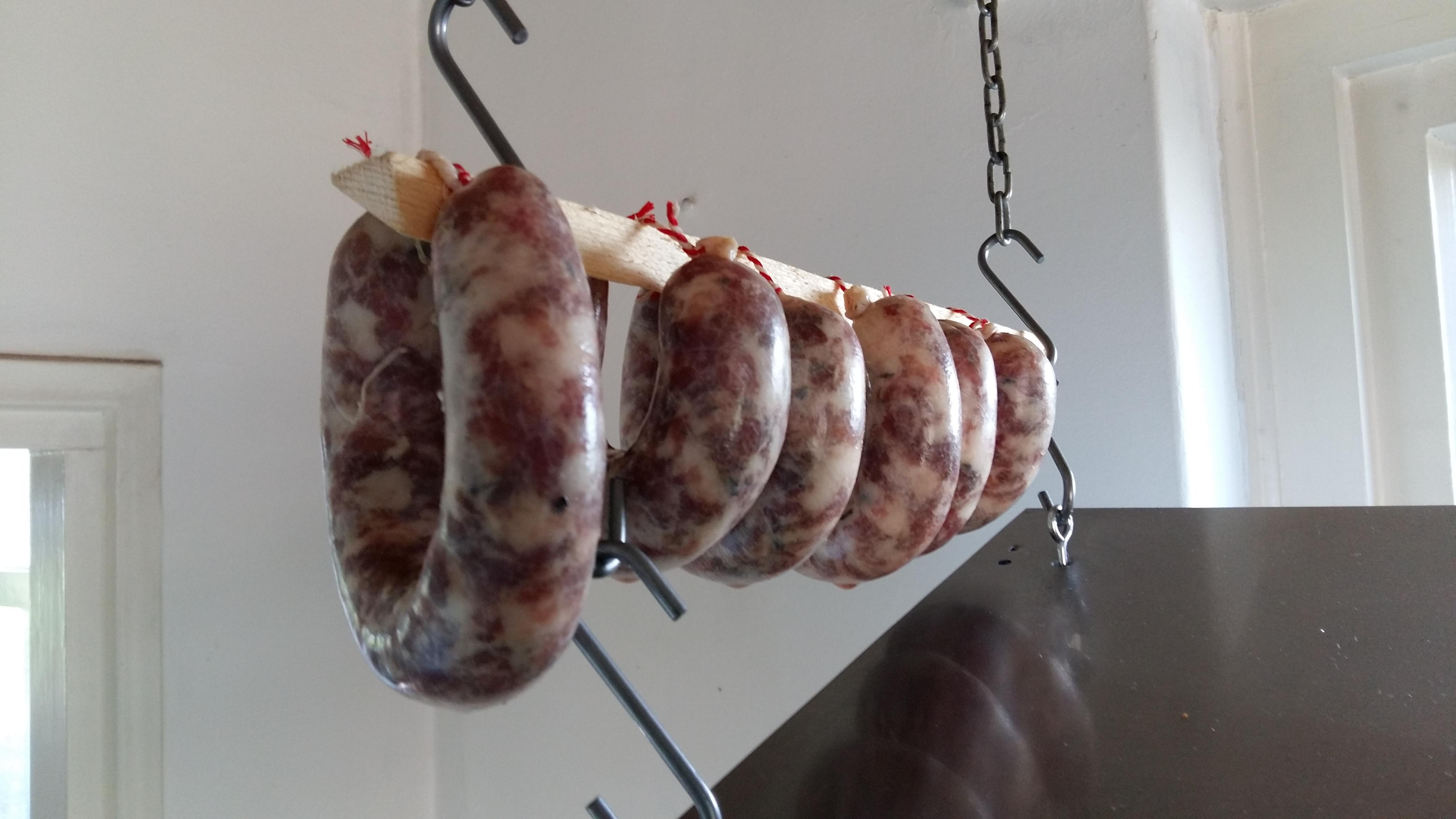 Varkensvlees workshop worst