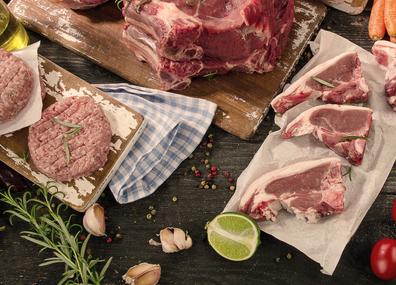 vleespakket varkensvlees kipvlees kippenvlees vleesbox